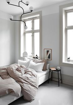 Home Interior Living Room .Home Interior Living Room Scandinavian Style, Home Design, Home Interior Design, Home Bedroom, Bedroom Decor, Master Bedroom, Greige, Comfortable Living Rooms, Minimalist Bedroom