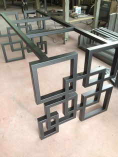 Chair Design Ideas Woodworking is a multifaceted craft that can result in many beautiful and useful pieces. Welded Furniture, Iron Furniture, Steel Furniture, Industrial Furniture, Table Furniture, Furniture Design, Furniture Dolly, Metal Table Legs, Dining Table Legs