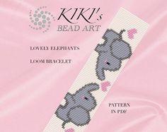 Bead loom pattern Black cats LOOM bracelet por KikisBeadArts