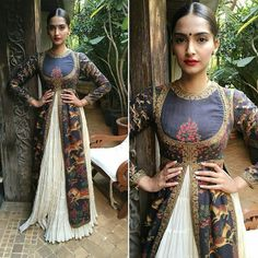 Sonam Kapoor for her movie Prem Ratan Dhan Paayo promotions