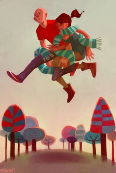 taking a leap by lois van baarle