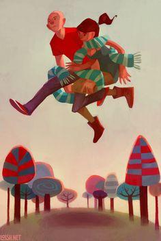 taking a leap by lois van baarle