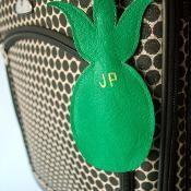 Pineapple Luggage Tag - via @Craftsy