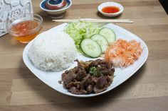 Rice Dishes - Grilled Beef Rice (Steamed)
