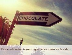 Sigue el camino dulce