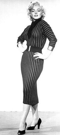 this dress was featured in my favorite Marilyn movie Gentlemen Prefer Blondes.