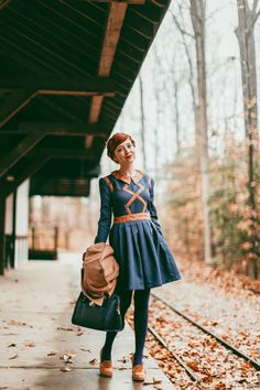 The Clothes Horse: Family Affairs Holiday Treat  Great hipster/vintage style inspo for RecordsAndRibbons.com ♡