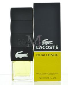 Challenge by Lacoste this fresh and spicy fragrance is a blend of Tangerine, Lemon, and Bergamot. www.maxaroma.com fragrance men lacoste-challenge-for-men pid 7794 3?referance_price-1