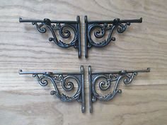 Resultado de imagen de soporte hierro para estante