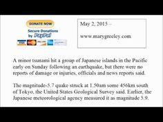 Small tsunami hits southern Japan islands after magnitude 5.7 earthquake