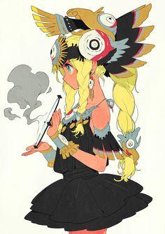 anime, mangá, tumblr, indian girl, magic girl