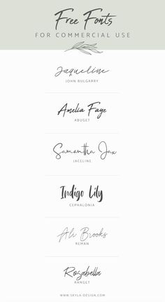 This Pin was discovered by Silvia Galán Vallina. Discover (and save!) your own Pins on Pinterest. Brush Script Font, Best Script Fonts, Logo Fonts Free, Brand Fonts, Fonts For Logos, Best Free Handwritten Fonts, Free Tattoo Fonts, Tattoo Fonts Cursive, Font Free