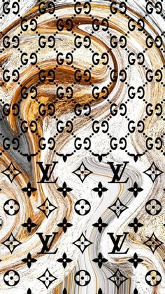 Gucci Wallpaper Iphone, Louis Vuitton Iphone Wallpaper, Bling Wallpaper, Iphone Background Wallpaper, Retro Wallpaper, Aesthetic Pastel Wallpaper, Logo Louis Vuitton, Fashion Wall Art, Fashion Prints