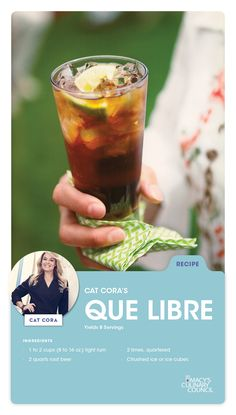 Beat the heat with Macy's Culinary Council Cat Cora's Que Libre. We'll take an extra squeeze of lime, please!