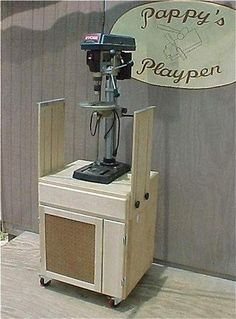 Height for Bench Top Drill Press Stand - The SawdustZone