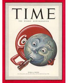 TIME Magazine Coca-Cola - May 15, 1950.