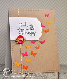 Makes Me Happy from Joyful Creations with Kim. Stamps by Simon Says Stamp.
