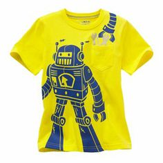 Jumping Beans Robot Graphic Tee - Boys 4-7x