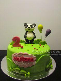 Doces Opções: O Panda no 2º aniversário da Mariana