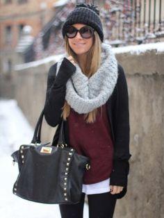 monicasors Outfit   Invierno 2012. Cómo vestirse y combinar según monicasors el 21-1-2013