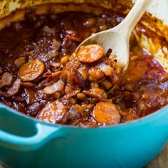 This Baked Beans with Smoked Sausage recipe is my very favorite baked bean recipe. What makes it so special is the slices of smoked sausage. If you're a fan of having meat in your baked beans, you will love this recipe. It's like Beanie Weenies, only much better. Not only is this recipe …
