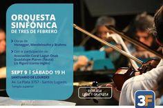 Nuevo concierto de la Orquesta Sinfónica en Lourdes