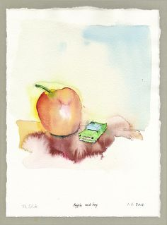 Thomas Schütte, Apple and Toy, 2012