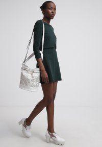 mint&berry - Shopping Bag - white/black
