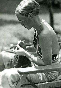 Marianne Breslauer c.1934 portraying Ruth von Morgen
