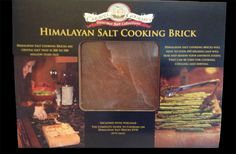 Created from natural salt deposits found in the Himalayas and enhances the flavor of your favorite foods. http://oliveoilpurveyor.com/himalyansaltcookingbrick.aspx