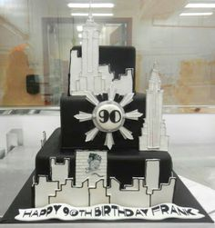 Carlo's Bakery - 90th birthday cake - from their Facebook page post.