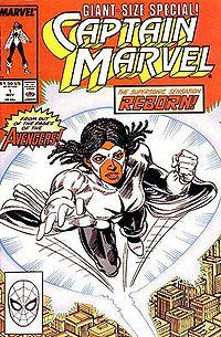 Captain Marvel (Monica Rambeau, a.k.a. Photon, a.k.a. Pulsar)