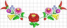 Kalocsai hímzésminta 312 Tambour Embroidery, Folk Embroidery, Flower Pots, Folk Art, Elsa, Kids Rugs, Band, Diy, Fictional Characters