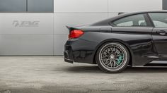 HRE Wheels on BMW M4 fitted with Vorsteiner Body Kit