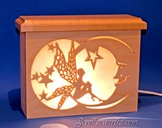 scroll saw patterns | Scroll Saw Patterns :: Lighted projects :: Night lights  lamps ...