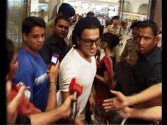 Ranveer Singh at Mumbai Airport leaving for IIFA Awards 2014.
