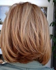 Shoulder Length Layered Bob | Excellent Bob Hairstyles for Women with Medium Length Hair Pictures