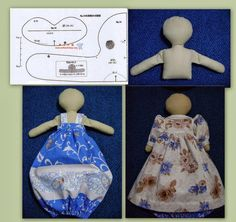 Doll Patterns, Sewing Patterns, Sewing Crafts, Sewing Projects, Grocery Bag Holder, Plastic Bag Holders, Sewing Dolls, Doll Tutorial, Doll Maker
