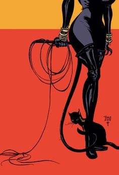 My own version of crazy cat woman will be much more like this. :)