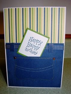 A Pocket Birthday - Stampin' Connection