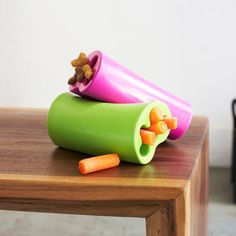 Very cool. We don't recommend you feed your dogs too many carrots- but treats should always be served in moderation. (; Fab.com | Sustainable Pet Products