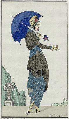 """""""Robe a Retroussi"""" ~ Gerda Wegener, 1913"""