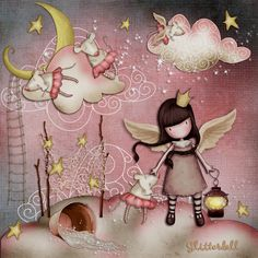 Fairy by Gorjess Cute Images, Pretty Pictures, Decoupage, Ideias Diy, Illustrations, Copics, Cute Illustration, Cute Wallpapers, Cute Art