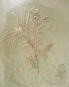 Suscitada Gesso Grande Fleurs D 'amour estêncil estêncil De Parede Pintura estêncil in Artesanato, Materiais para arte e artesanato, Pintura e arte decorativa | eBay