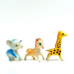 Vintage Squeak Toys
