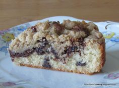 Mainly Baking: Nutella Cake with Cinnamon Crumble