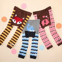 Doodle Pants are a sweet and simple way to express a silly side when dressing Baby. Not just a laugh to look at, they're also extremely comfortable and made with thick, flexible material. We love that these colorful designs are easy to wash and feature little innovations like stretchy cuffs and a roomy seat perfectly sized for a diaper.