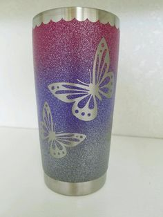 Personalized Custom Ombre Glitter by ValleyViewDesignShop on Etsy