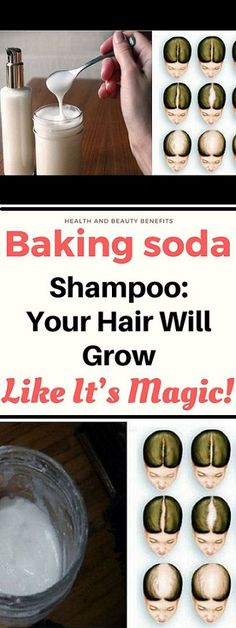 Baking soda has a lot of uses, and some of them are connected with health, others with household, and some of them with beauty. It has a lot of purposes, and about one of them we are going to tell you right here. It is about improving your hair quality. #hair #bakingsoda #healthyrecipes