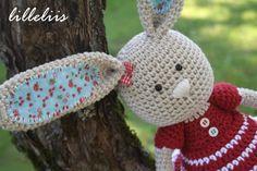 PATTERN  Frillypants Bunny crochet amigurumi toy by lilleliis, $6.50